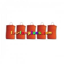 achat lampion orange